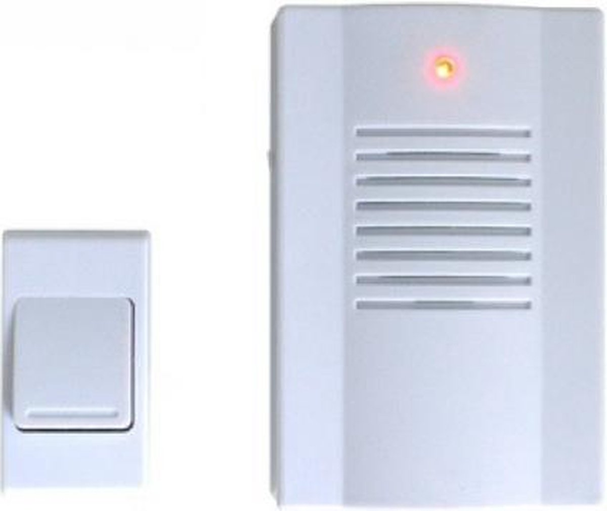 Deurbelsets | Deurbellen | Draadloze deurbel | Deurbel wit | Deurbel 1 ontvanger - Merkloos