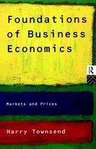 Boek cover Foundations of Business Economics van Harry Townsend