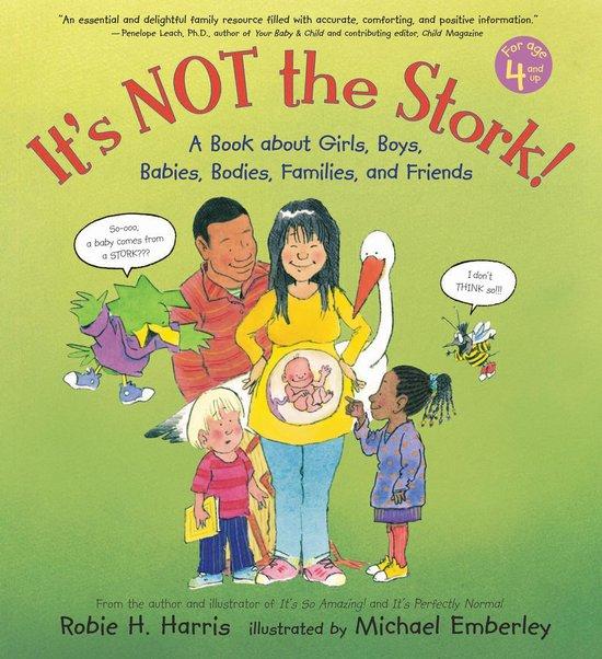 Boek cover Its Not the Stork! van Robie H. Harris (Hardcover)