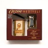 Turkse koffie (250 gram) inclusief Turkse koffiekan (cezve)