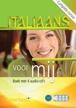 Italiaans voor mij boek + 4 audio-cd's
