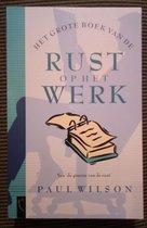 Grote Boek Van Rust Op Het Werk