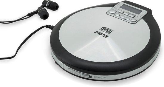 bol.com | Soundmaster CD9220 - Discman - Zwart/zilver