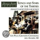 Songs And Stars Of The Thirties - France's Most Popular Songs