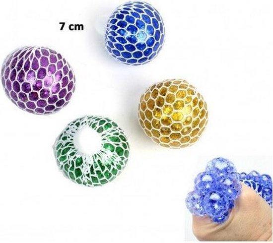 Thumbnail van een extra afbeelding van het spel Squishy Stress Ball Mesh Glitter