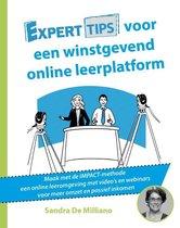 Experttips boekenserie - Experttips voor een online winstgevend leerplatform