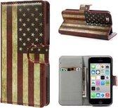iPhone 5 5s SE Hoesje Case USA Print