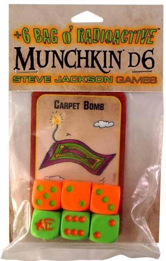 Afbeelding van het spel +6 Bag O' Radioactive Munchkin d6