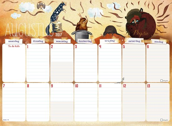 De family survival planner 2018