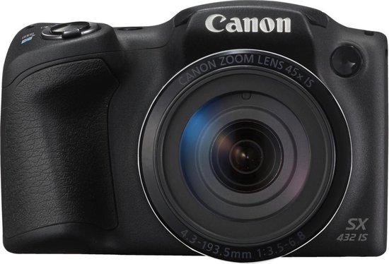 Canon PowerShot SX432 IS - Zwart