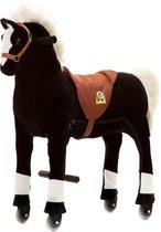 Animal Riding Paard Medium/Large: Zwart