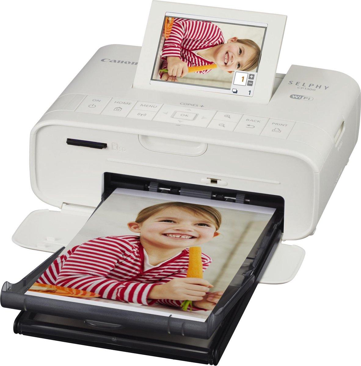 Canon SELPHY CP1300 - Fotoprinter met wifi / Wit