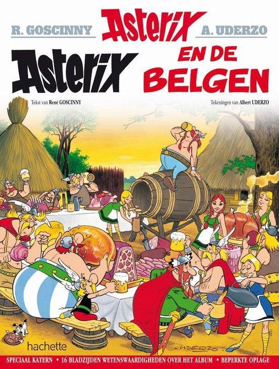 Boek cover Asterix speciale editie 24. asterix en de belgen - speciale editie van Albert Uderzo (Paperback)