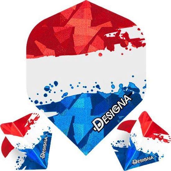 Dragon darts Designa – Nederlandse vlag Flights – darts flights