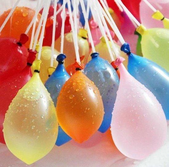 Zelfsluitende Waterballonnen - Magische Waterbalonnen Met Vuller - Waterbommen Set - 111-Delig