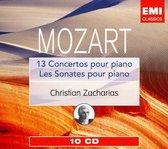 Mozart: 13 Concertos pour piano; Les Sonates pour piano