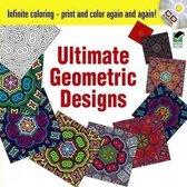 Infinite Coloring Ultimate Geometric Designs