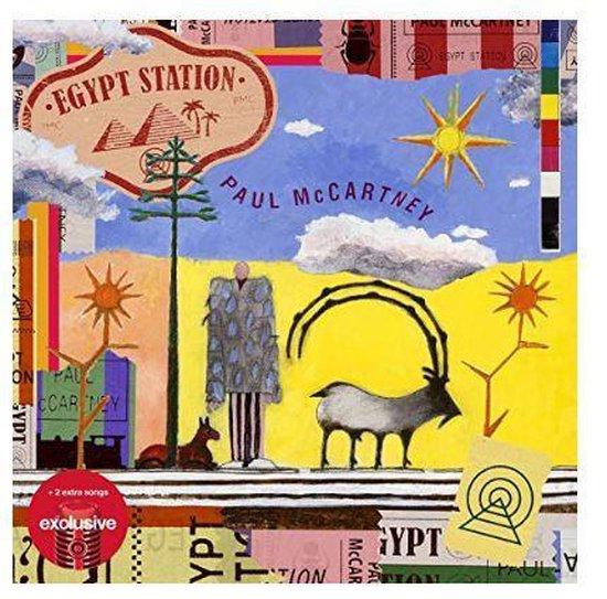 CD cover van Egypt Station (Limited Deluxe Edition) van Paul McCartney