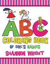 ABC Coloring Book of Girl's Names