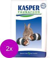 Kasper Faunafood Konijnenknaagmix - Konijnenvoer - 2 x 15 kg