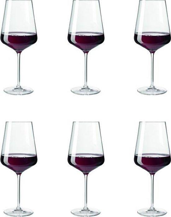 Leonardo Puccini Rode wijnglas Groot - 750 ml - 6 stuks