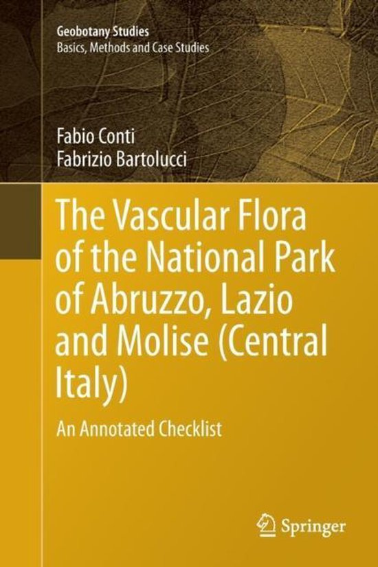 Boek cover The Vascular Flora of the National Park of Abruzzo, Lazio and Molise (Central Italy) van Fabio Conti (Paperback)