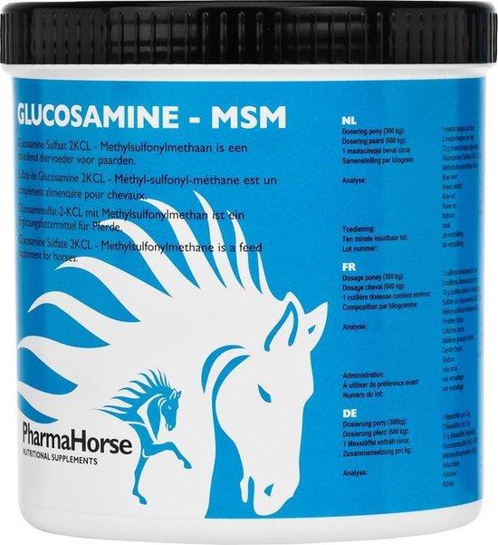 PharmaHorse Glucosamine & MSM - 500 gram - PharmaHorse