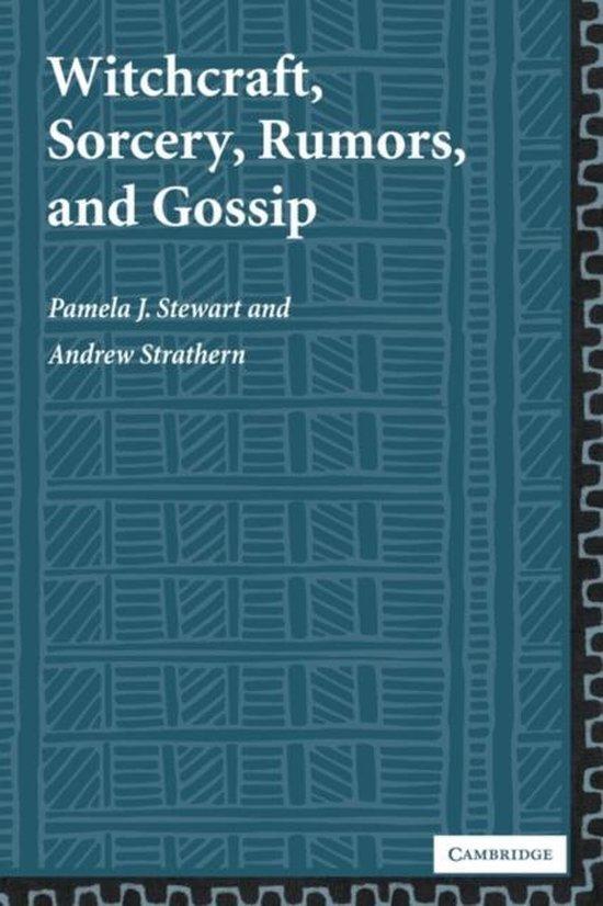 Boek cover Witchcraft, Sorcery, Rumors and Gossip van Stewart, Pamela J. (Paperback)