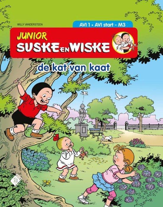 Junior Suske en Wiske- De kat van Kaat - Willy Vandersteen |