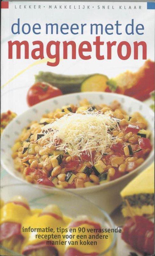 Cover van het boek 'Doe meer met de magnetron'