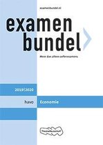 Boek cover Examenbundel havo Economie 2019/2020 van J.P.M. Blaas (Paperback)