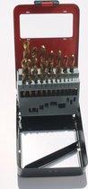 Titaanboren set 1.0 t/m 10.0 oplopend met 0,5 mm ETC
