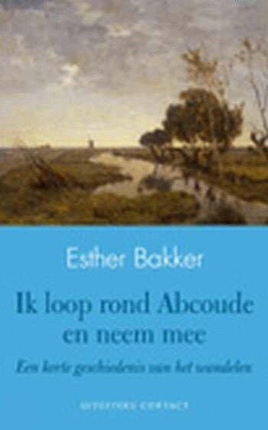 Cover van het boek 'Ik loop rond Abcoude en neem mee'