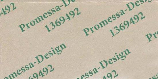 Promessa-Design – NEE Geen collectes , verkopers of geloofsovertuigers deurbordje - Promessa-Design