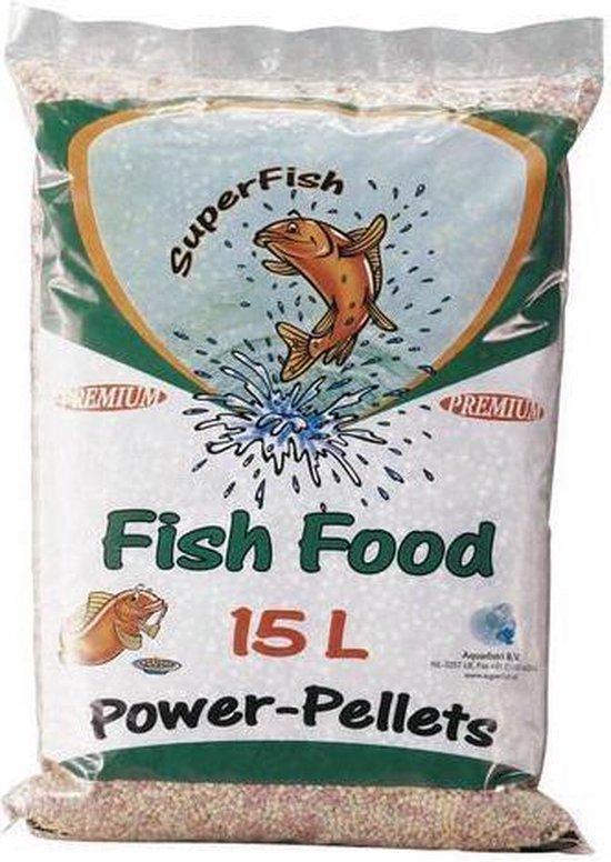 Superfish Power Pellet Zak - 15 Liter