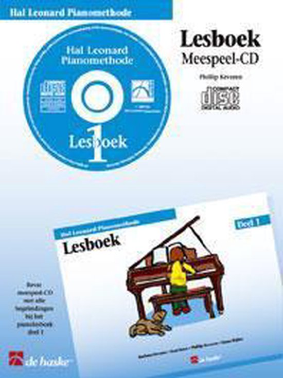 Lesboek 1 Hal Leonard Pianomethode - P. Keveren |