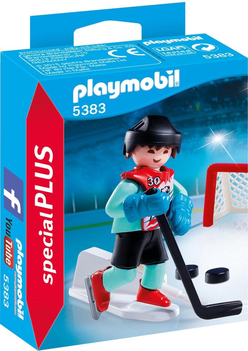 PLAYMOBIL Ijshockeyspeler - 5383