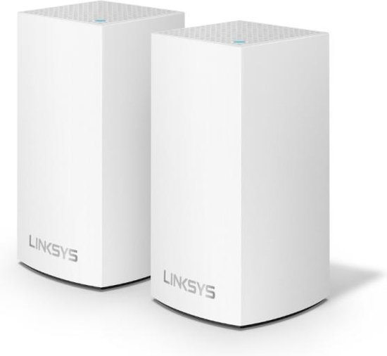 Linksys Velop dual band - Multiroom Wifi Systeem - Duo Pack