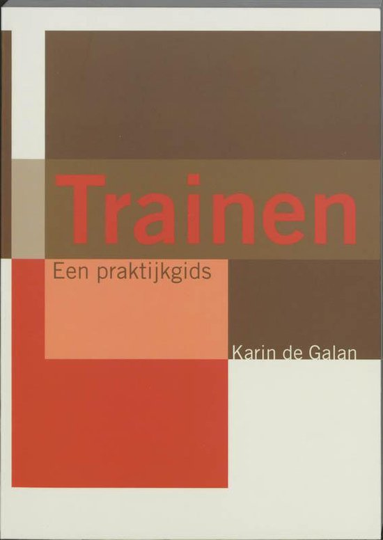 Trainen - Karin de Galan pdf epub