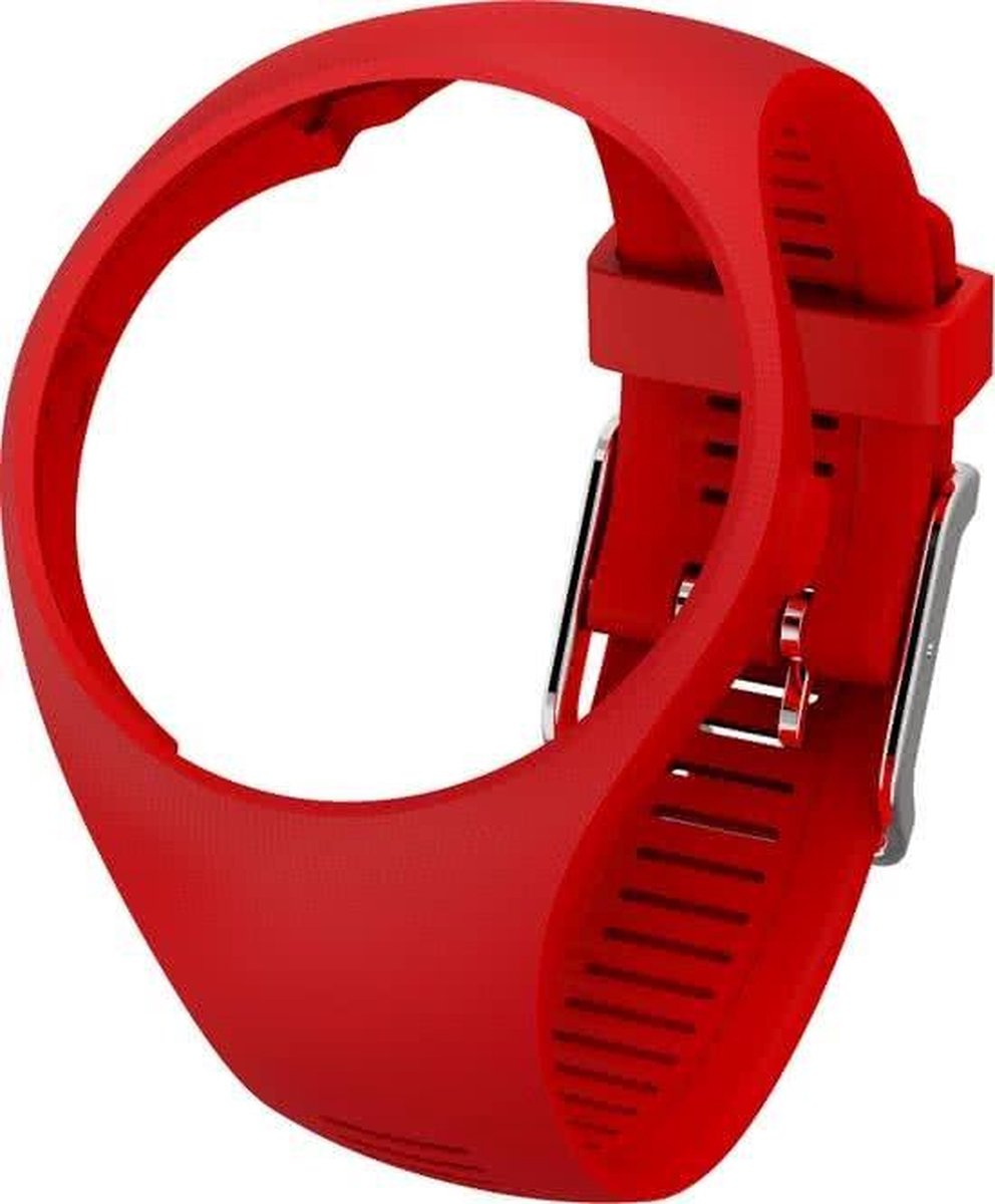 Polar M200 Horlogebandje - Sporthorloge - Rood - Maat M/L - Polar