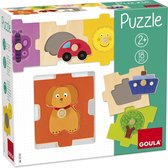 Goula houten inlegpuzzel puzzel