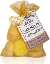O.W.N. Candles 12 Scented Wax Melts Spiced Vanilla & Whiskey Caramel