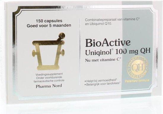 Pharma Nord BioActive Uniqinol Q10 100 mg - 150 Capsules - Voedingssupplement