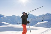 Komperdell Alpine  wandelstok grijs/zwart Lengte 120cm