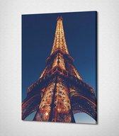 Paris - Eiffel Tower Canvas | 40x30 cm