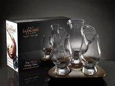 Whisky Unlimited Whiskey set - 2 glazen + Karaf - Luxe Cadeauset