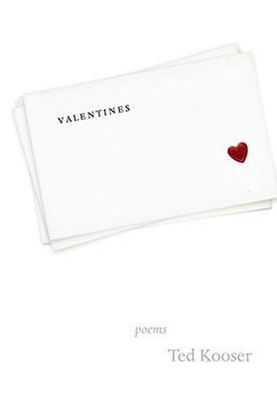 Boek cover Valentines van Ted Kooser (Hardcover)