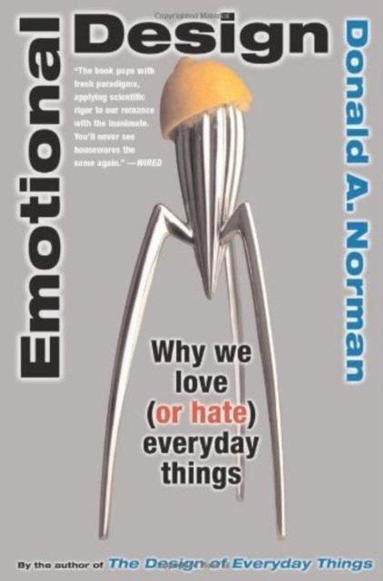 Boek cover Emotional Design van Don Norman (Paperback)