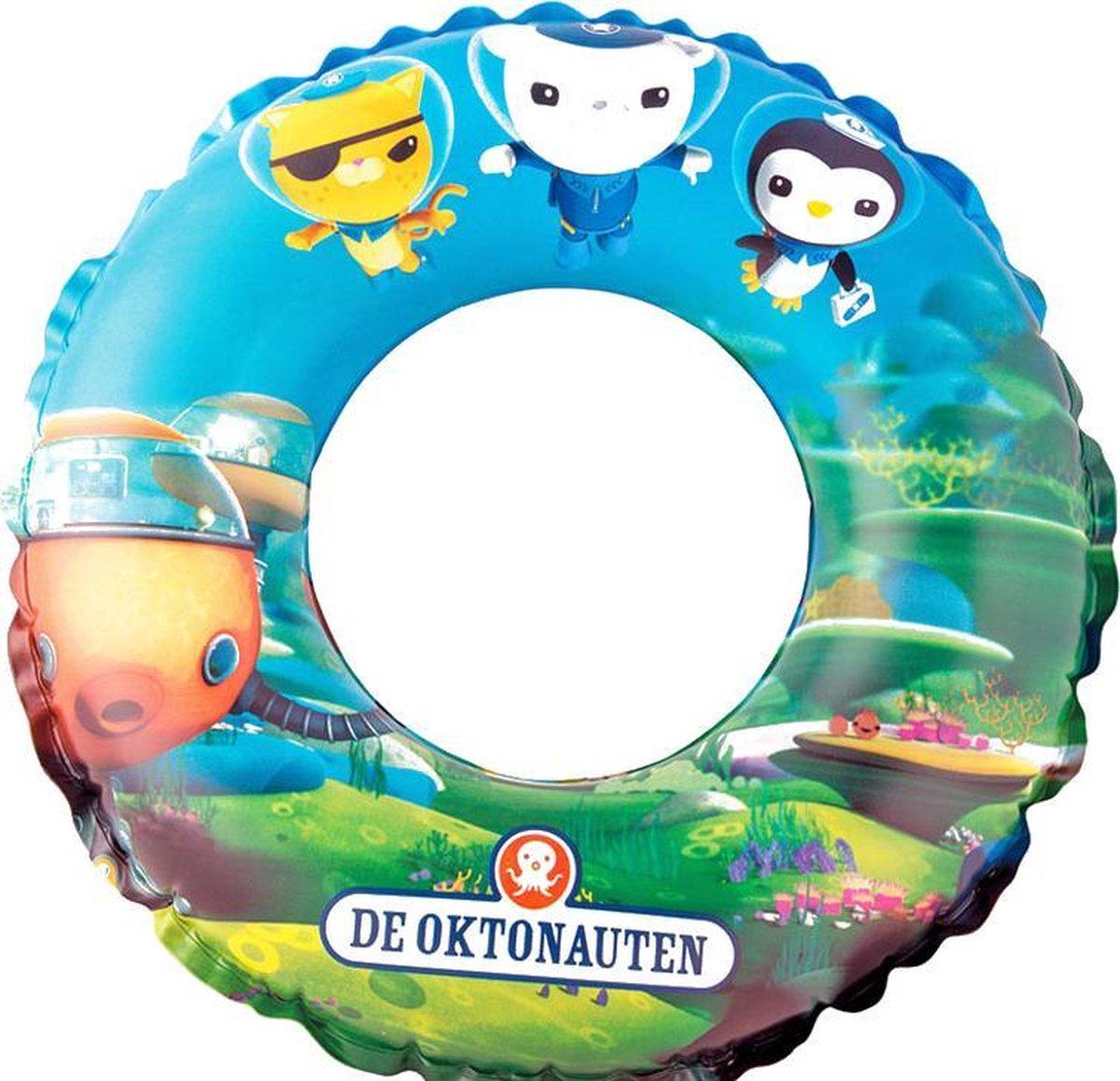 Octonauten Opblaasbare Zwemring voor Kinderen - 50 cm - Aanbevolen Vanaf 3 Jaar - Blauw