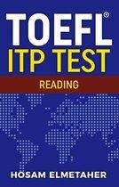 Boek cover TOEFL ® ITP TEST: Reading van Hosam Elmetaher